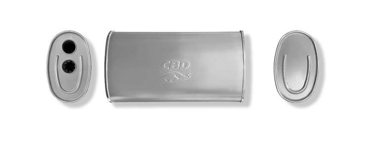 Новые изделия. Глушитель универсальный CBD430.045